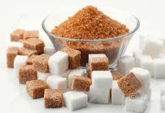 brown white sugar